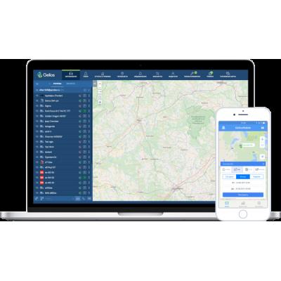 Система мониторинга транспорта GELIOS